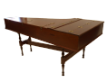 John Morley Single Manual Harpsichord Mahogany (after Culliford) NEW